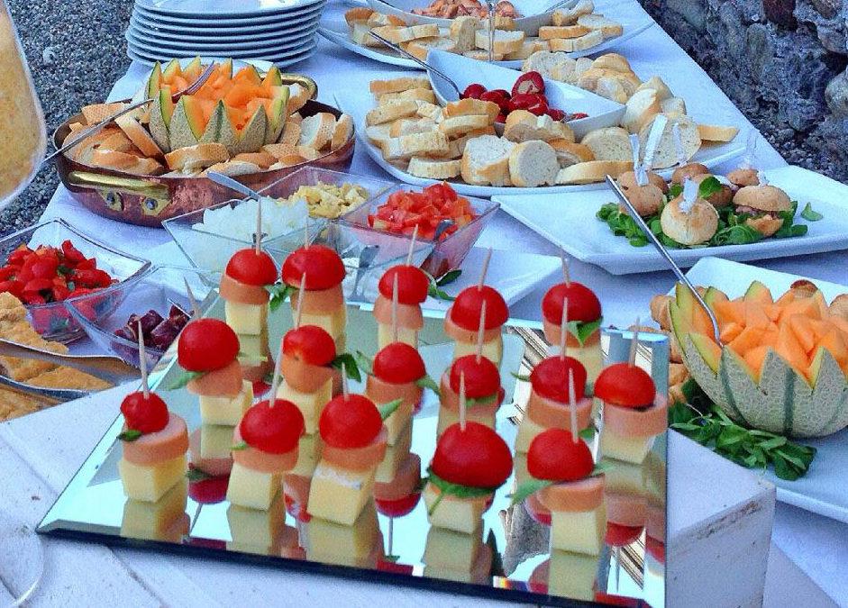 Idee per un buffet vario e gustoso